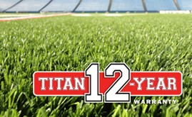 A-Turf Titan 12-year warranty