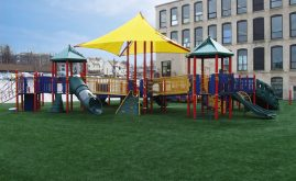 A-Turfon Abbey Kelly Foster Regional Charter School playground