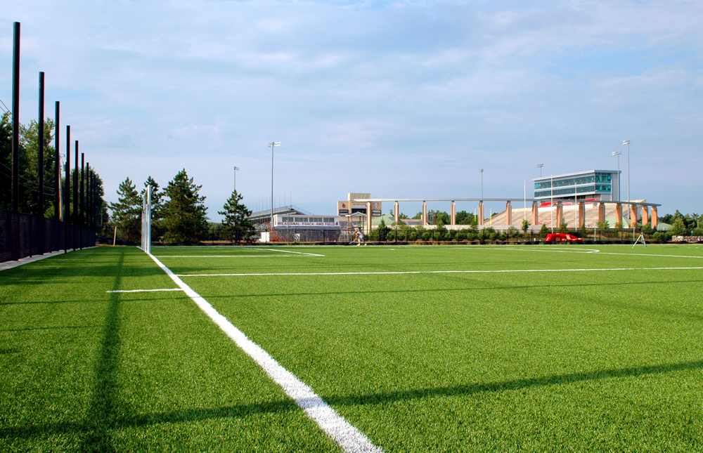 A-Turf at Ball State University practice soccer field