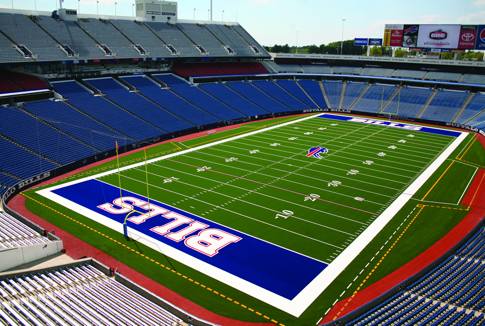 A-Turf Titan field at Buffalo Bills New Era Field in Orchard Park, NY