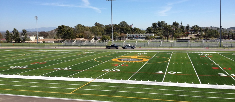 A-Turf Titan on athletic field at Marine Corps Base Camp Pendleton