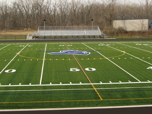 A-Turf on athletic field at Canisius High School