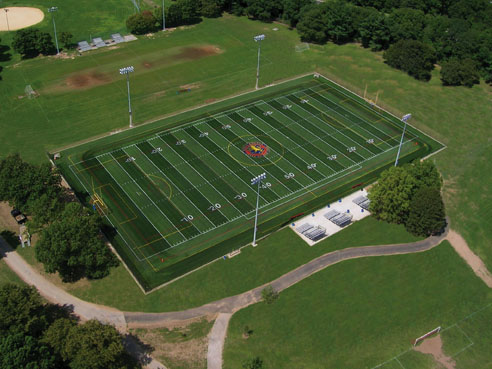 A-Turf atheltic field at Cantiague Parkin Nassau County, NY