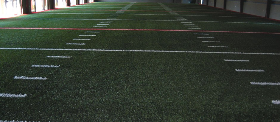 A-Turf at Champion Sports indoor footbal training facility