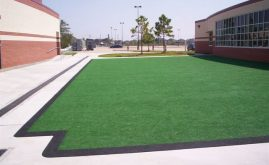 A-Turf play area at J. Frank Dobie High School in Houston, TX