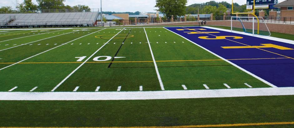 A-Turf Memorial Field at East Grand Rapids High School in Michigan