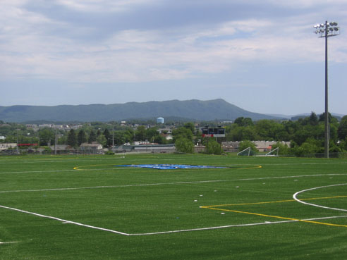 A-Turf for field hockey at Eastern Mennonite University College