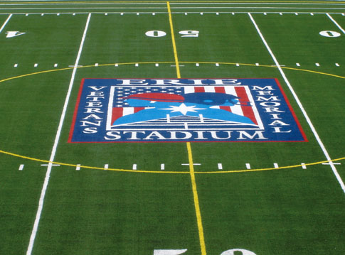 A-Turf football & soccer field at Erie Veterans Stadium in Erie, PA