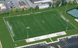 A-Turf on lacrosse field at Franklin & Marchall College in Lancaster, PA