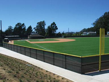A-Turf baseball field at Half Moon High School in California