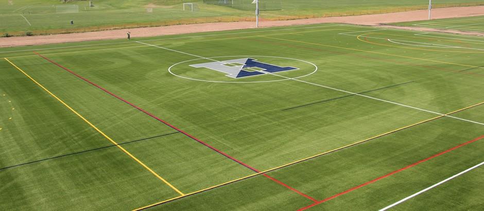 A-Turf on multi-sport field at The Hill School in Pottstown, PA