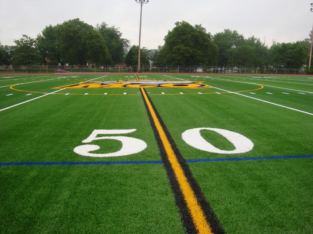 A-Turf Titan on McQuaid JesuitHigh School multi-sport athletic field