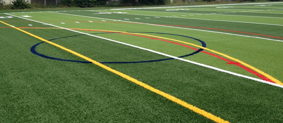A-Turf Titan system at Mulroy Park Pierce Field in Buffalo, NY
