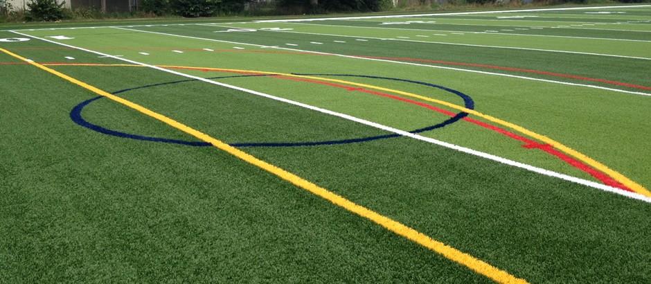 A-Turf Titan system at Mulroy Park Pierce Field in Buffalo, NY