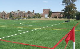 A-Turf multi-sport field at Nichols School in Buffalo, NY