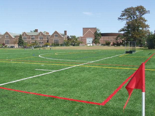 A-Turf multi-sport field at Nichols School in Buffalo, NY