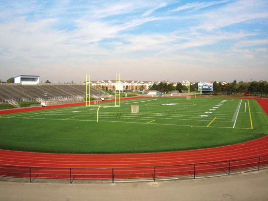 A-Turf at SUNY University at Buffalo stadium