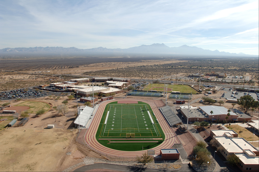 A-Turf Titan at Sahuarita High School Stadium in Arizona