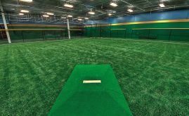 A-Turf on indoor baseball training facility Sports Performance Park
