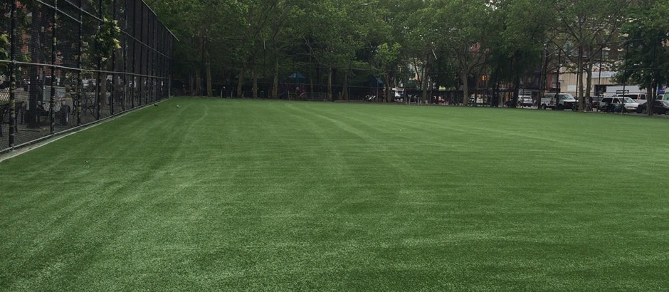 A-Turf Titan SS system at New York City park field