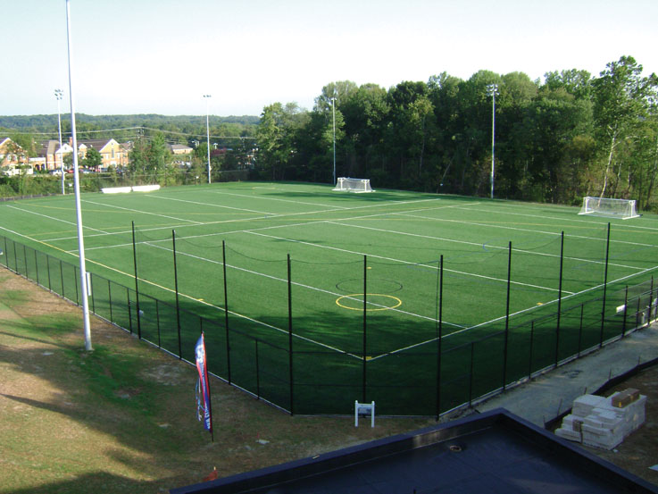 A-Turf on University of Mary Washinton multi-sport fields