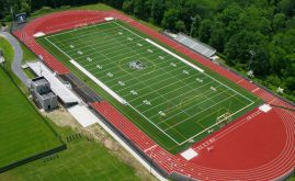A-Turf on multi-sport field at Yorktown High School