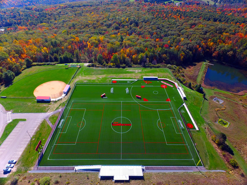 Corning Community College Welcomes Their 2nd A Turf Field
