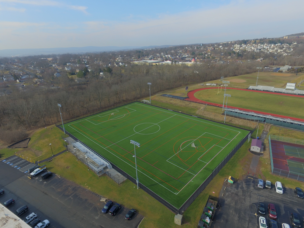 Pottsgrove High School A-Turf Titan Multi-Sport Field