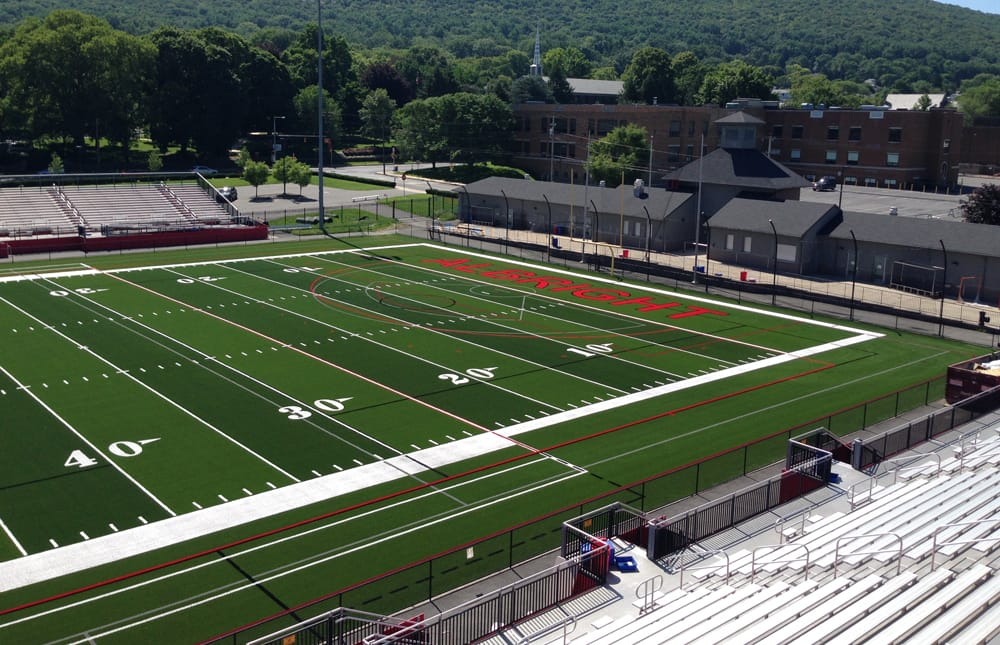 Albright College's 85,112 s.f. A-Turf® Titan multi-sport field was installed in 2015.