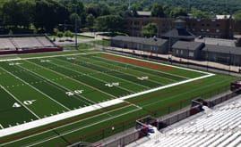 Albright College's 85,112 s.f. A-Turf® Titan multi-sport field was installed in 2015.