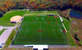 Corning Community College's 50,000 s.f. A-Turf® Titan multi-sport field was installed in 2015.