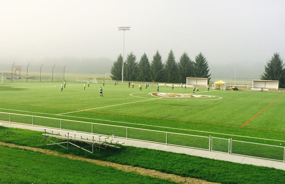 St. Bonaventure University's 106,666 s.f. A-Turf® Titan multi-sport field was installed in 2014.