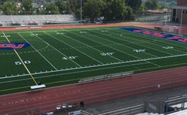 Chartiers Valley's 82,000 s.f. A-Turf® Premier XP multi-sport field was installed in 2016.