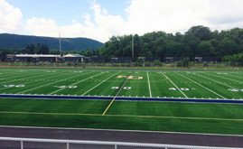 Notre Dame High School's 83,000 s.f. A-Turf® Titan multi-sport field was installed in 2014.
