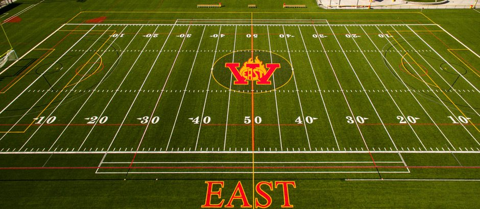 A-Turf Titan Multi-Sport Field at Williamsville East High School – East Amherst, NY.
