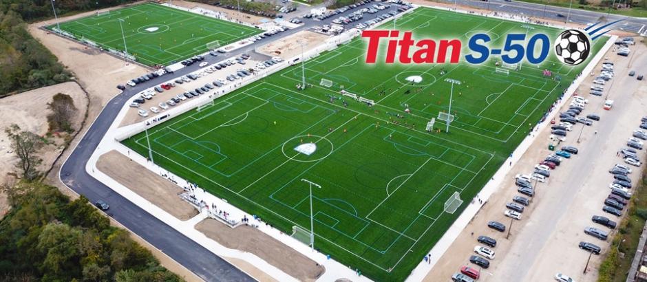 A-Turf® Titan S-50 field install