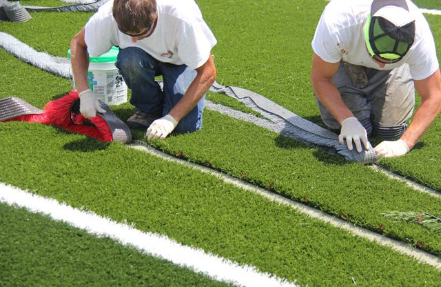 Replacing Turf Systems Many Years Down the Road